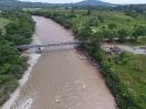 Vista del puente sobre el río Orito
