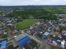 Vista del barrio La Unión y el estadio municipal